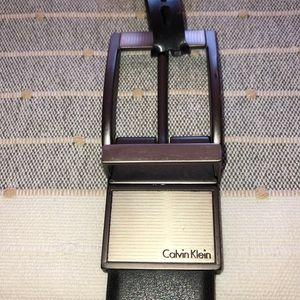 New Calvin Klein reversible belt